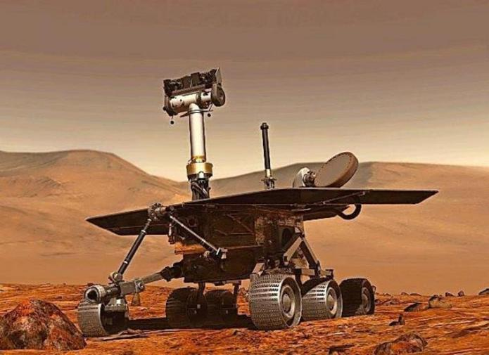 "The ""Opportunity"" rover remained active on Mars for around 15 years - on board it has an analysis device that was co-developed by university chemist Franz Renz.  The robot has now stopped exploring."
