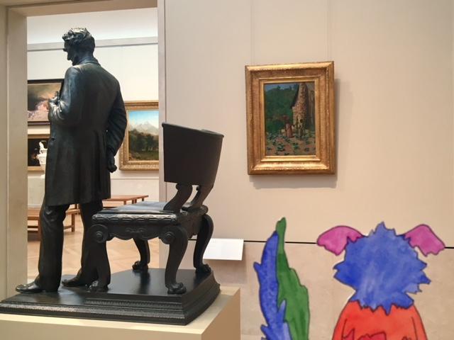 Abraham Lincoln, Augustus Saint-Gaudens, Thomas Anshutz