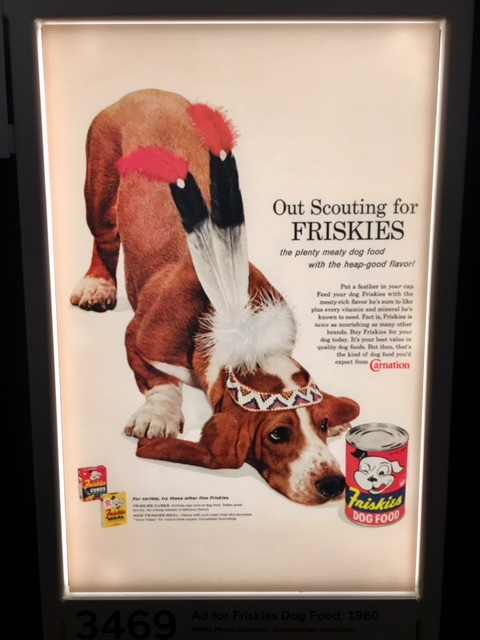 beagle, friskies, native american
