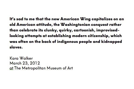 Kara Walker, american art, american history