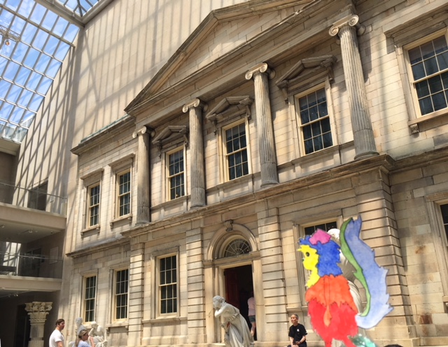 american art, met museum, Branch bank of the United States facade