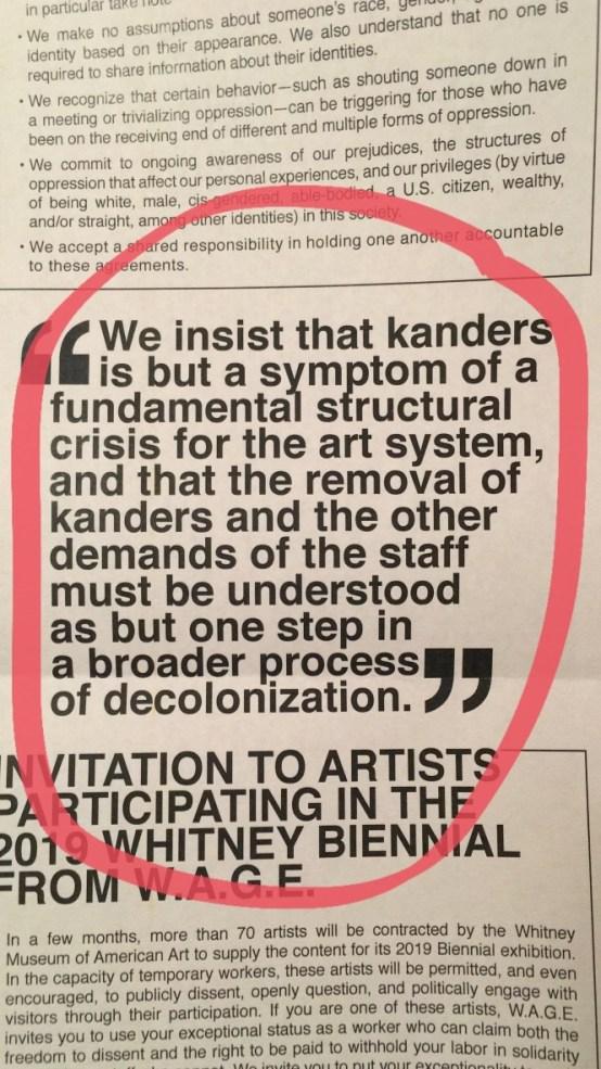 Whitney, decolonization