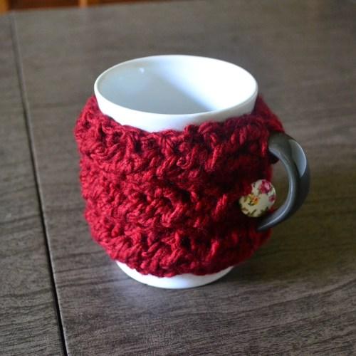 Mug Cozy Favors you can Crochet!