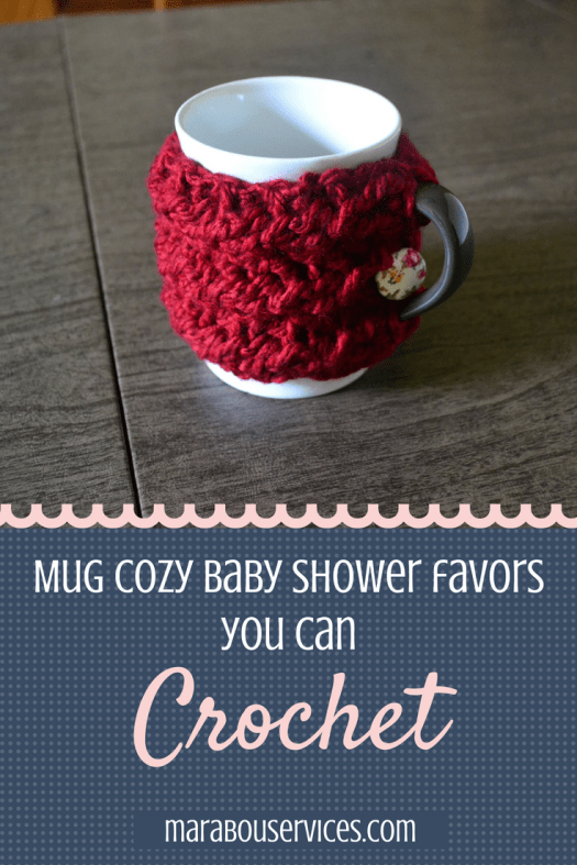 Mug Cozy Baby Shower Favors You Can Crochet!