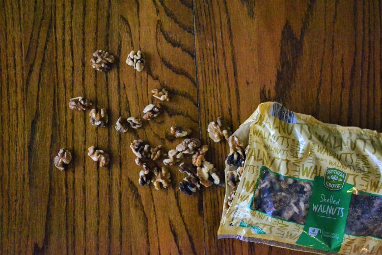 How to add simple nutrition using walnuts!