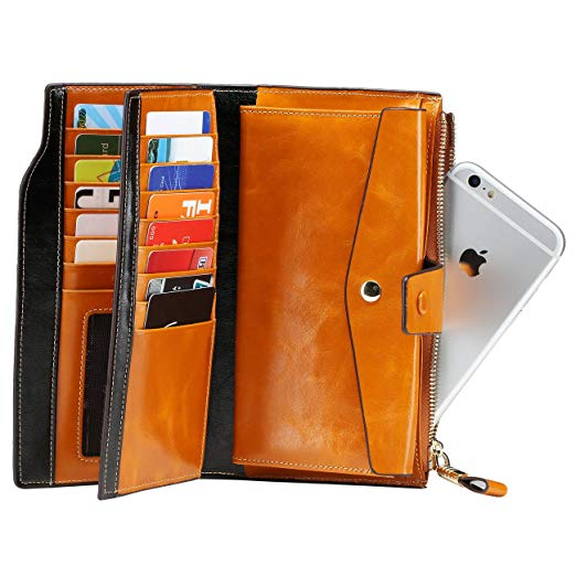 womens rfid blocking walle
