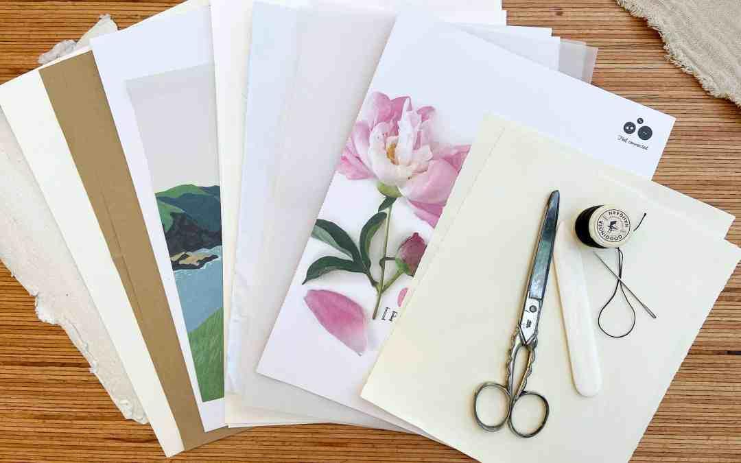 DIY: Art Journal einfach selber binden