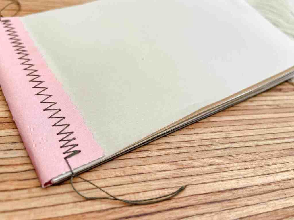 journal-bindung-mit-der-nähmaschine-stepp
