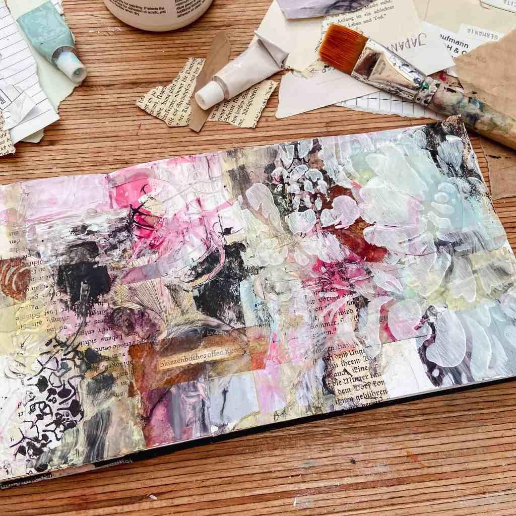 art-journal-seite-kreative-freiheit