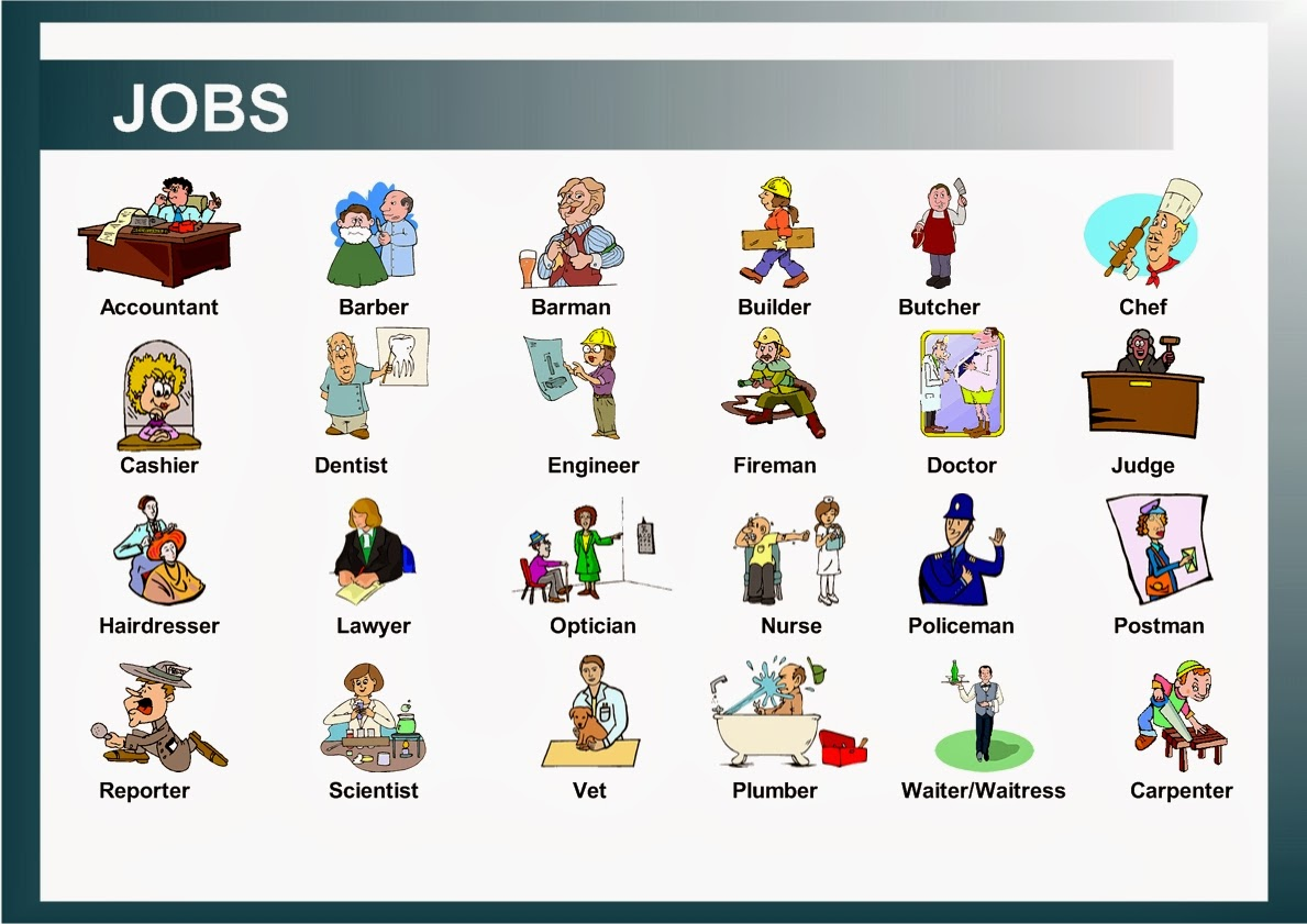 Occupations Amp Jobs English 4 Everyone