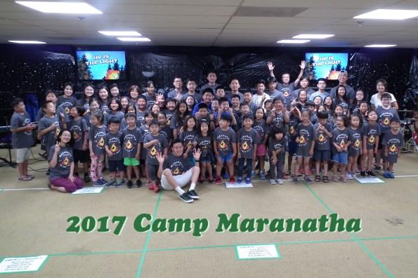 Maranatha Vision - 2017 CampMaranatha 2