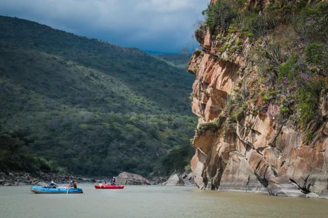 Rafting Marañón River