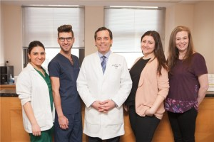 Hillel Marans, MD and his clinical staff