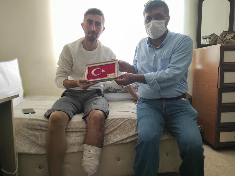 """Kuzey Irak gazisi: """"Bu vatana ayağım değil canım feda olsun"""""""