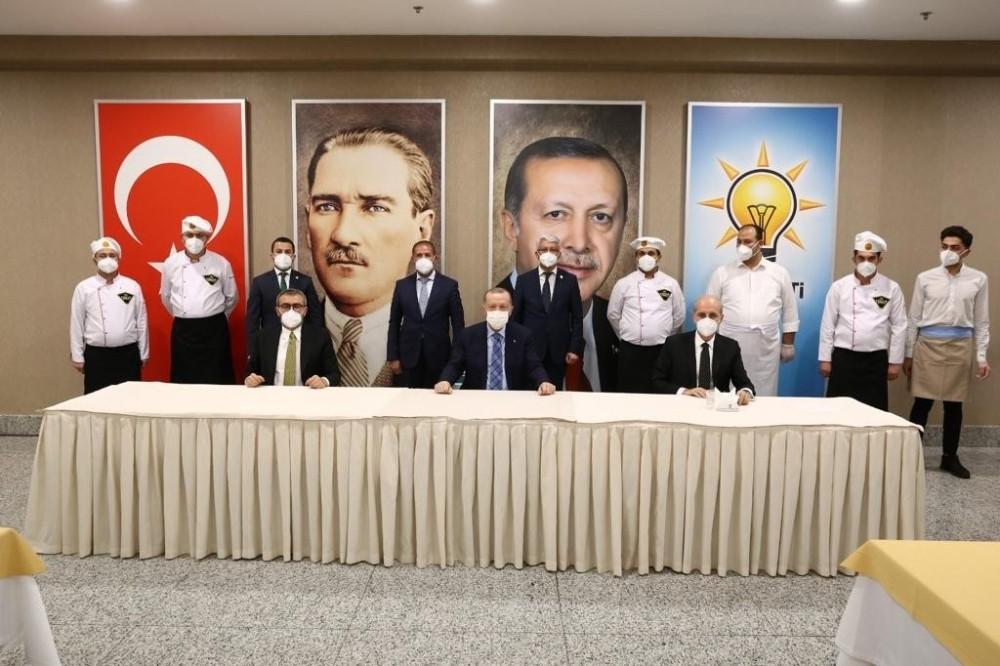 Kahramanmaraş'ın lezzetleri Erdoğan'ın beğenisine sunuldu