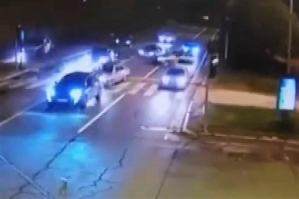 Ölümlü trafik kazası MOBESE kamerasında