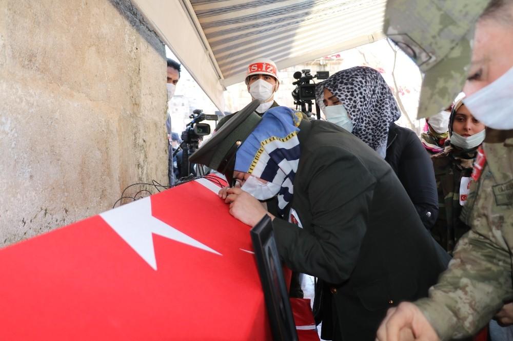 Gara şehidi Kahramanmaraş'ta son yolculuğuna uğurlanıyor