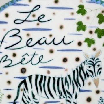 "Mara Superior, ""Le Beaux Bete"", 2002, detail"