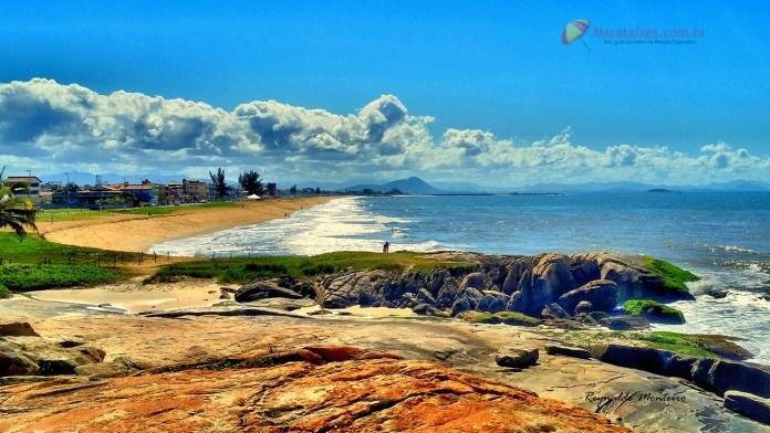 Praia de Cidade Nova em Marataízes captada pelas lentes de Reynaldo Monteiro