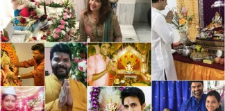 Marathi Celebs Ganeshotsav 2017 Ganpati bappa