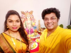 Atul Todankar With Wife Madhuri
