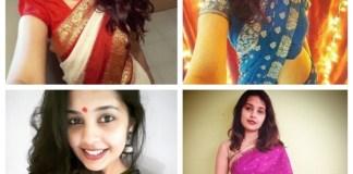 marathi actress celebs in saree style fashion actor star