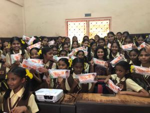 Hruta Durgule Becomes Padwoman For Women's Day