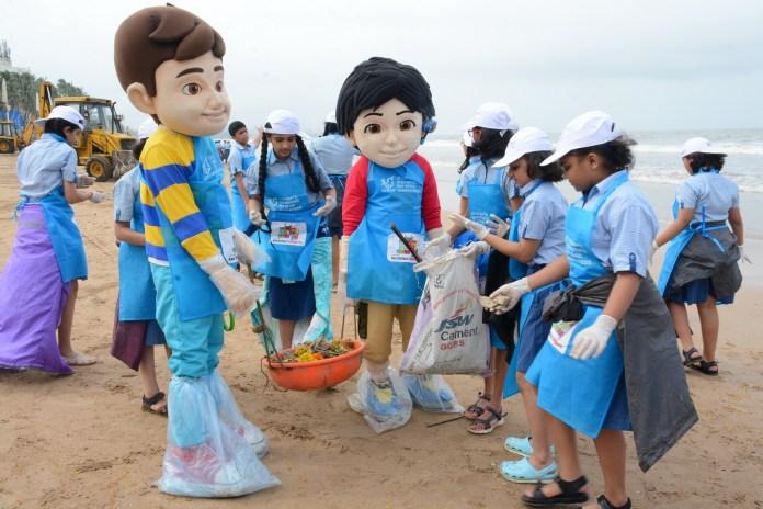 Viacom18 Beach Cleaning Activity