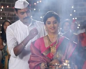 Ranjit And Sanjivani's First Fight - Raja Ranichi G Jodi