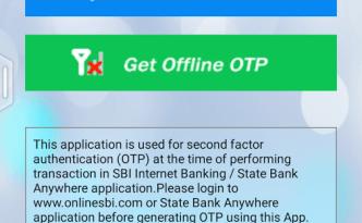 स्टेट बँक ऑफ इंडिया - OTP