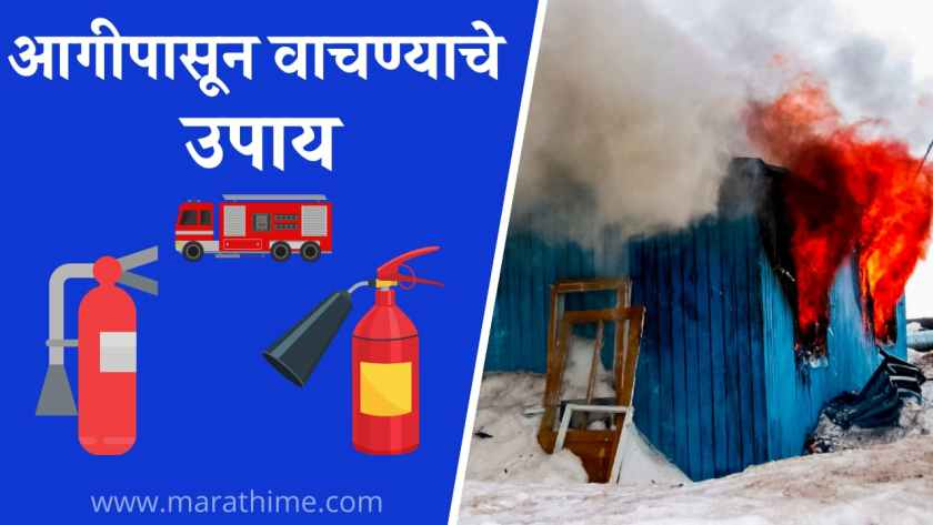 आगीपासून वाचण्याचे उपाय, आगीपासून सुरक्षा