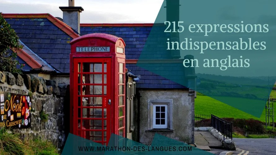 215 expressions indispensables anglais