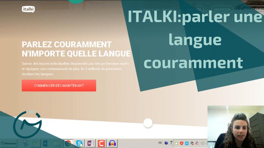 italki parler langue couramment
