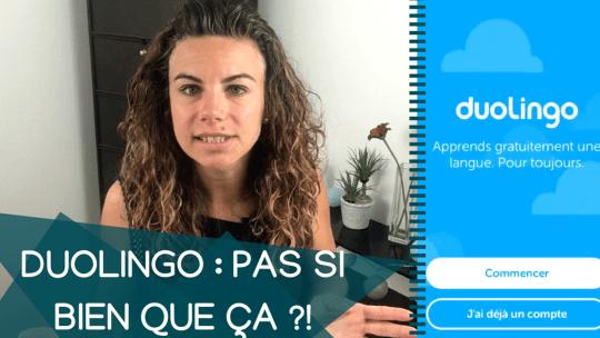 [GRATUIT] Duolingo apprendre anglais