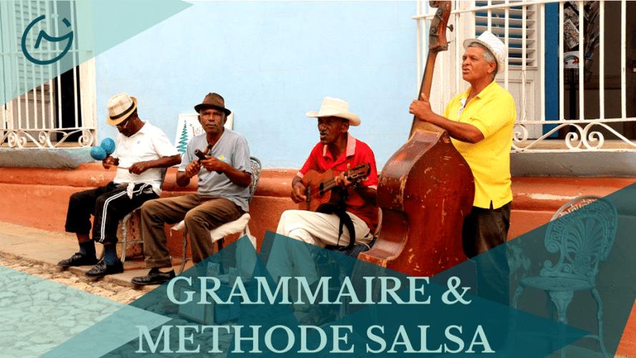 apprendre grammaire méthode salsa