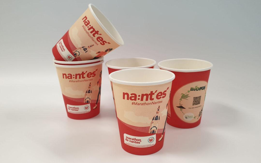 marathon engagé, recyclage des gobelets éco cup