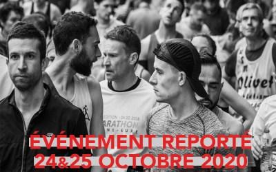 [INFO OFFICIELLE DU 17/03/2020] La 40ème édition de l'Abalone Marathon de Nantes reportée aux 24 et 25 octobre 2020