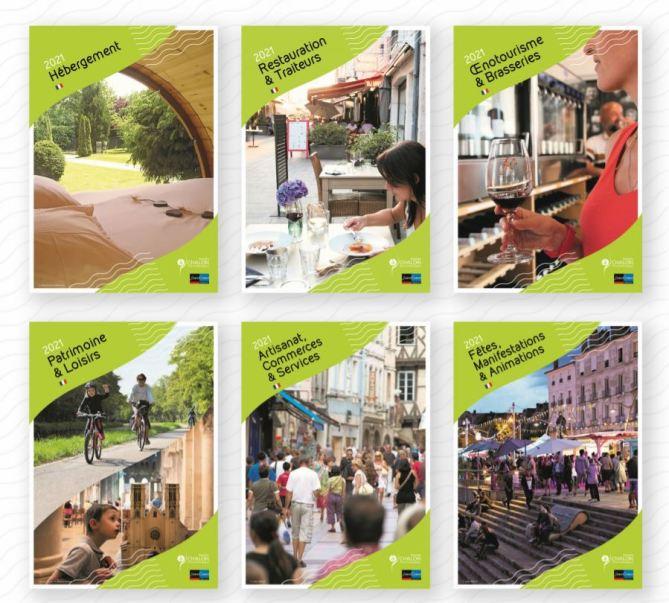 Brochures tourisme