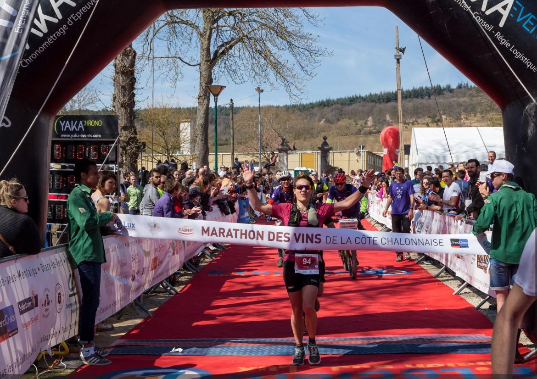 Cécile Clet Gagnante du Marathon 2019