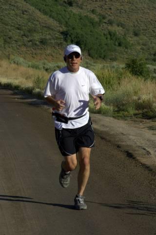 Running is training is running