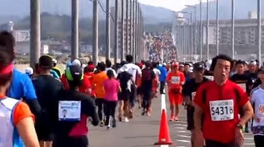 下関海峡マラソン コース 関門 閉鎖時間