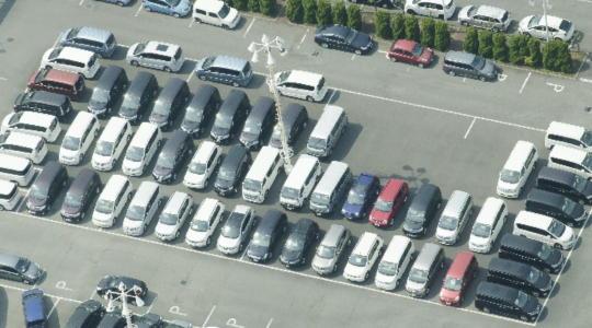 三浦国際市民マラソン 駐車場