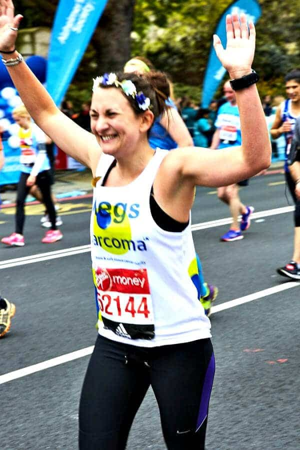 Megs Sarcona London Marathon