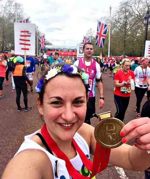 Megs Medal London Marathon