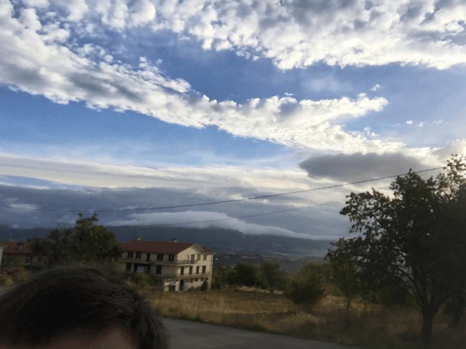 Leaving Poza De La Sal