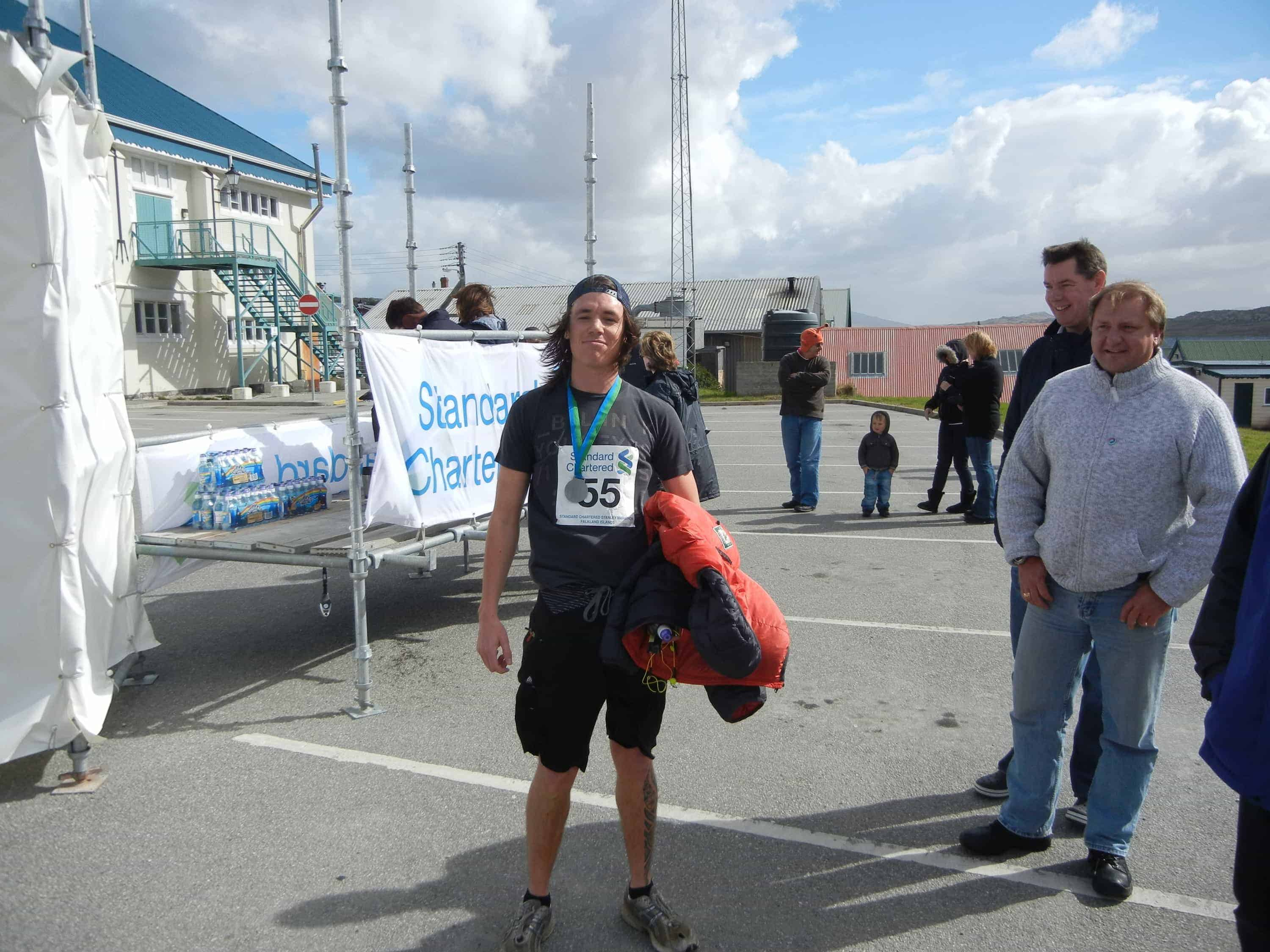 The Story of My First Marathon - Stanley, Falkland Islands 8