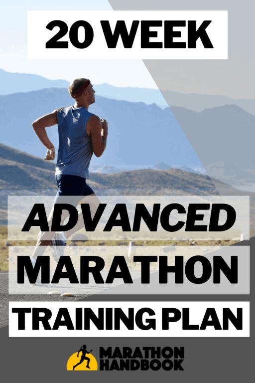 20 Week Advanced Marathon Training Plan