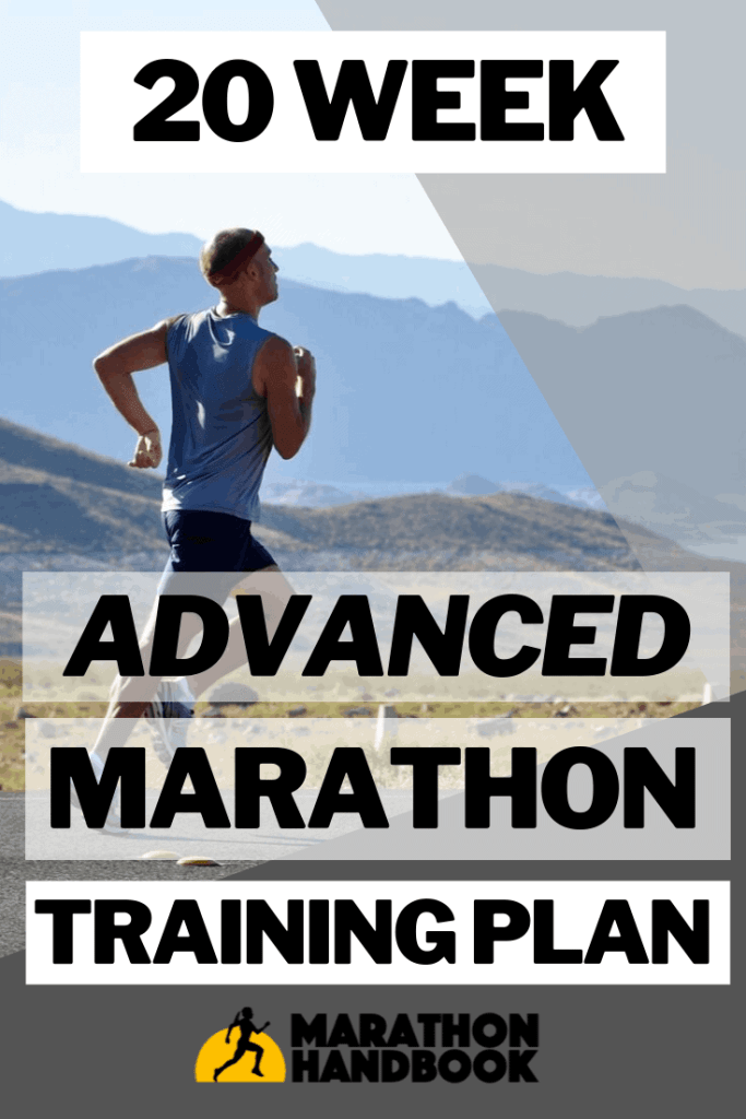 20 Week Advanced Marathon Training Plan
