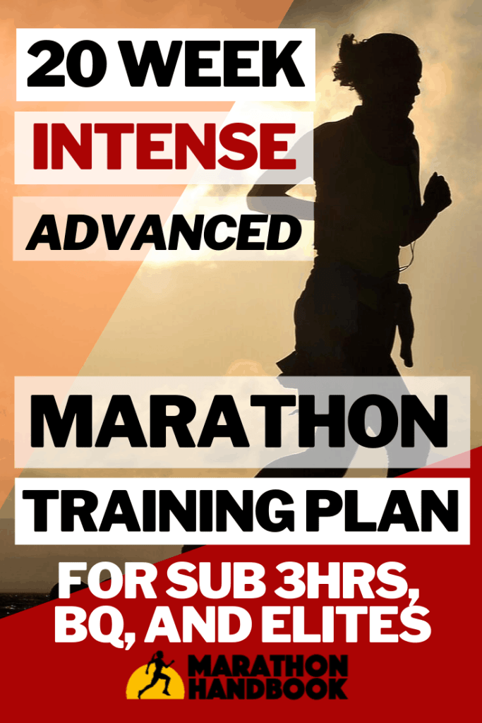20 Week Intense Advanced Marathon Training Plan
