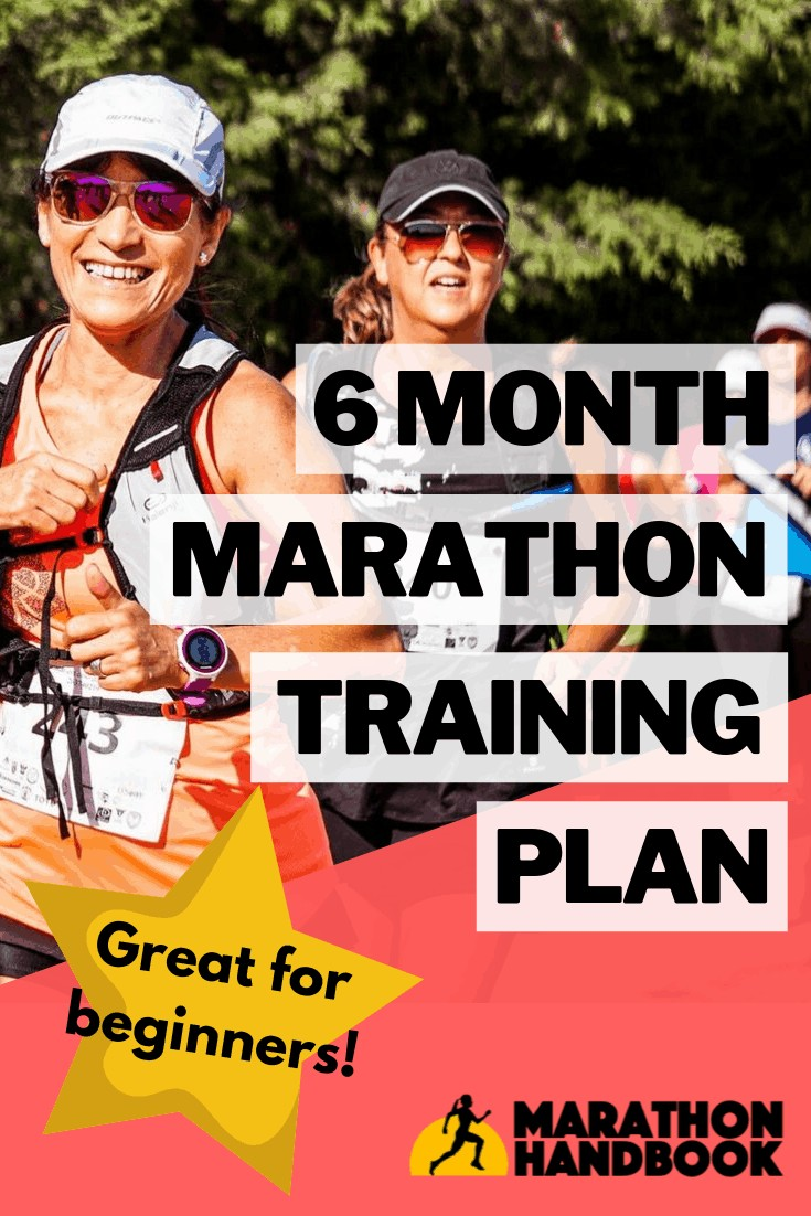 6 Month Marathon Training Plan 1